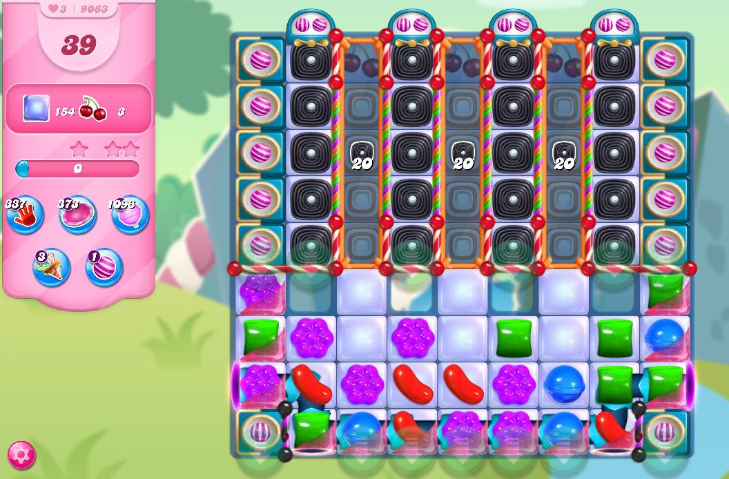 Candy Crush Saga level 9063