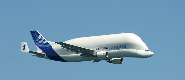 Airbus Beluga y transporte de mercancias