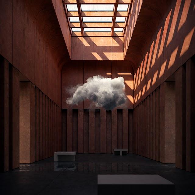 Ngỡ ngàng cách kts kéo đám mây về nhốt trong nhà
