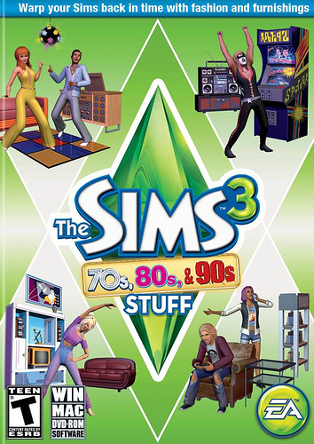 the sims 3 cracks the sims 3 70s 80s 90s stuff crack. Black Bedroom Furniture Sets. Home Design Ideas