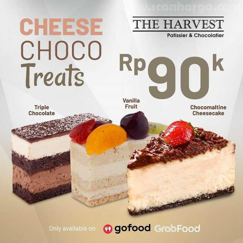 Promo The Harvest Paket Choco Cheese Treats Harga Hanya Rp 90Ribu 2