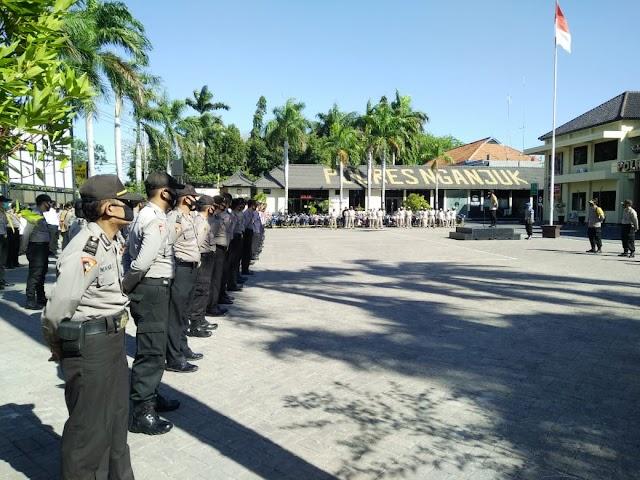 Polres Siap Jaga dan Mempertahankan Kondusifitas Wilayah Kab.Nganjuk