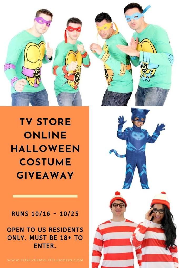 TV Store Online Halloween Costume Giveaway