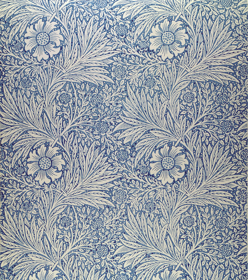 William Morris Wallpaper  Content in a Cottage
