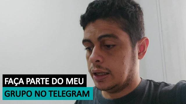 Venha Fazer Parte do Meu Grupo no Telegram