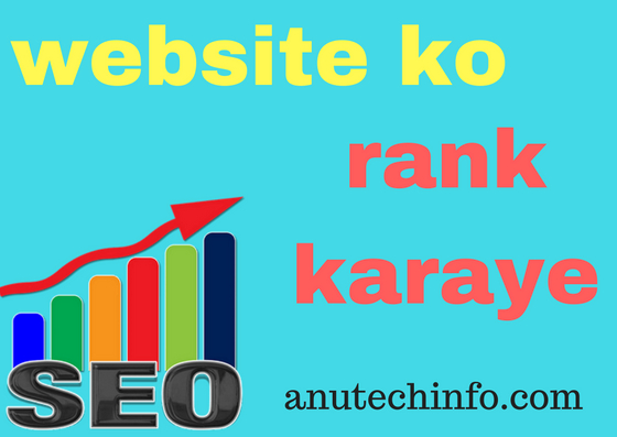 website ko kaise rank karaye