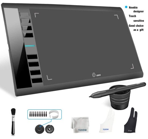 touch screen tablet with pen