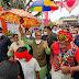 लोक कलाकारों के साथ लोक नृत्य करते दिखे प्रदेश के मुख्यमंत्री श्री शिवराज सिंह चौहान