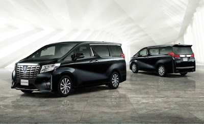 New 2016 Toyota Alphard front & rear look