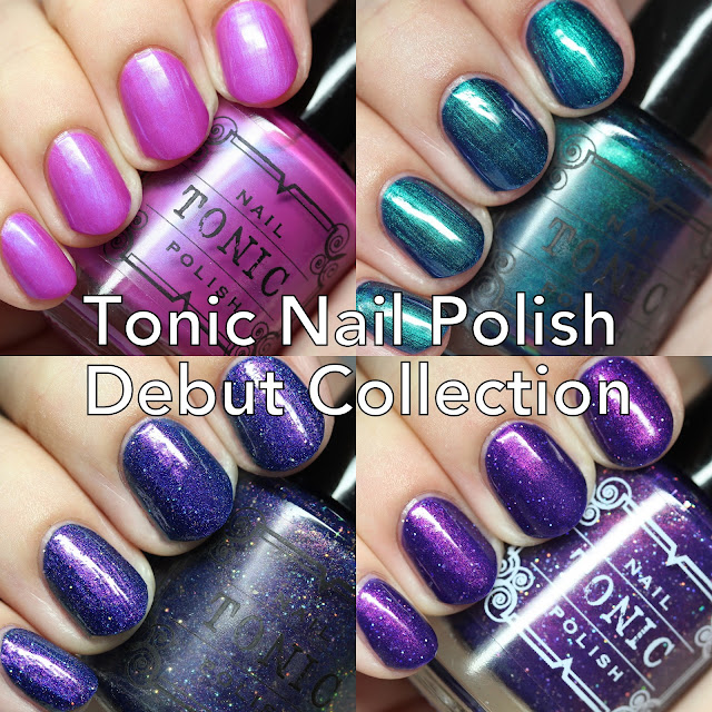 Tonic Nail Polish Debut Collection