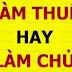 TỪ LÀM THUÊ LÊN LÀM CHỦ: CÔNG THỨC 2 BÁNH XE, 4 NGUYÊN TẮC, 8 ĐỪNG