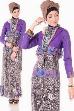 Tren model baju batik modern untuk remaja masa  kini