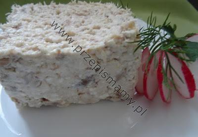 Pasta z makreli i czosnku