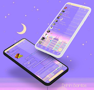 Roxo City Theme For YOWhatsApp & Fouad WhatsApp By Driih Santos