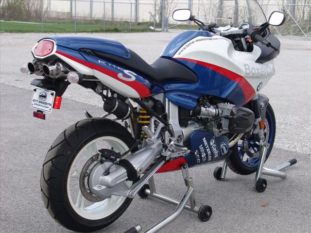 dd motorcycles: bmw r1100s boxercup