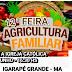 Venha participar da XII Feira da Agricultura Familiar com produtos agrícolas sem agrotóxicos de Igarapé Grande