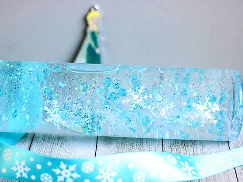 winter sensory bottle winter activity for kids