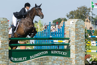 Matt Rakowski Burghley Horse Trials