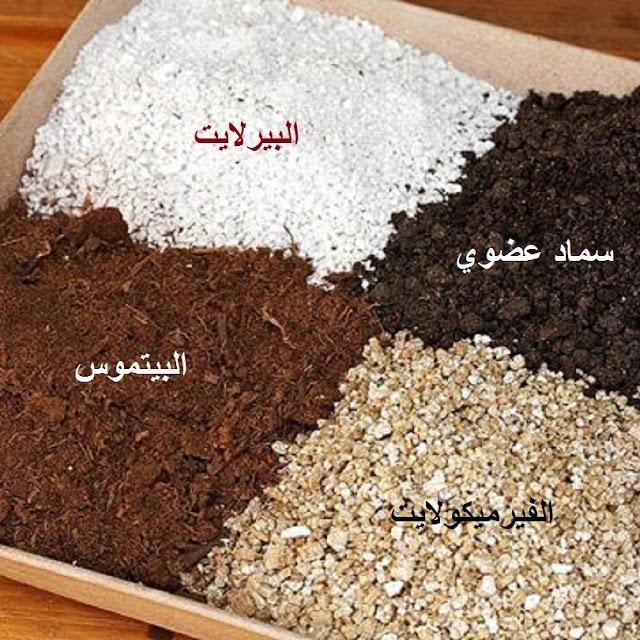 البيئات الزراعية البديلة soil mix