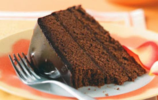 Double-layered truffle Cake