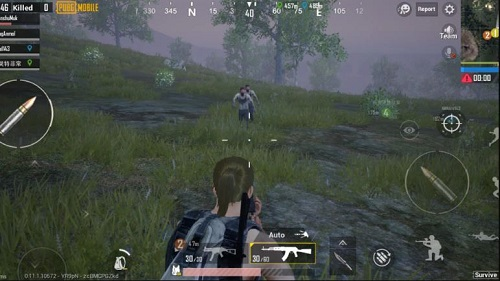 Ngắm bắn chỉ trong PUBG trên di động là rất thử thách và các người bắt đầu chơi trò chơi đột kích trên mobile
