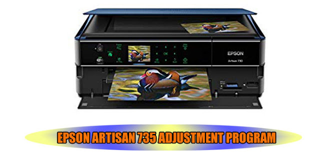EPSON ARTISAN 735 ADJUSTMENT PROGRAM