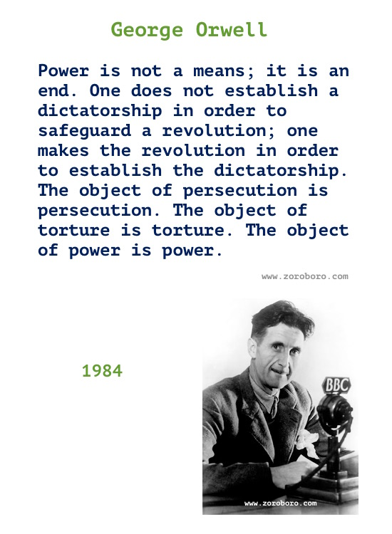 George Orwell Quotes. George Orwell Books Quotes, Truth, Freedom, Politics, Power & Thinking. George Orwell 1984 Quotes/ George Orwell Animal Farm Quotes