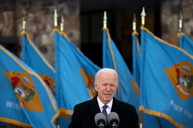 US president Biden begins his rule by issuing 15 orders to reverse Trump's policies