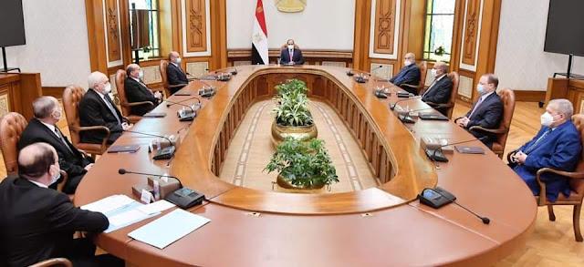 تعرف على قرارات جتماع المجلس الأعلى للهيئات القضائية برئاسة الرئيس السيسي