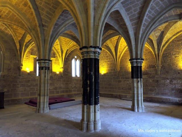 Sala capitular, Monasterio de Piedra