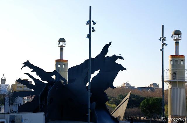 Sculture del Parco de l'Espanya Industrial