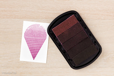 Rich Razzleberry Ombre Stamp Pad, Stampin' Up!