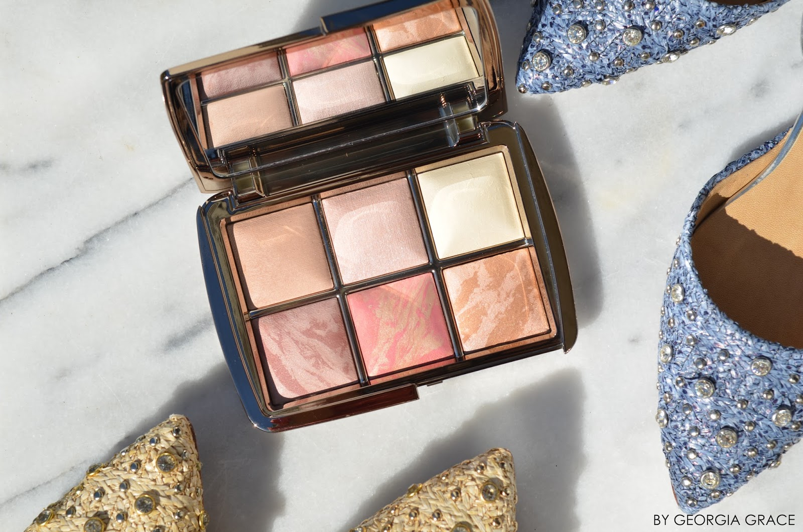 Hourglass Ambient Lighting Edit Palette Review and Swatches