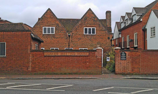 Friends Meeting House, Hertford (Photo taken by Equus caballus, November 24, 2012, from Wikipedia)