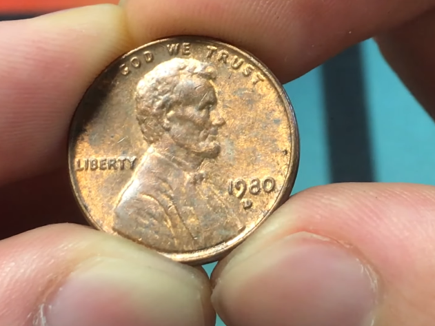 1980 D Penny Value