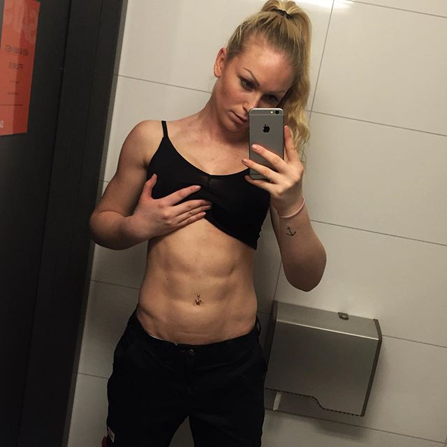 Fitness Model Frida Paulsen Stern