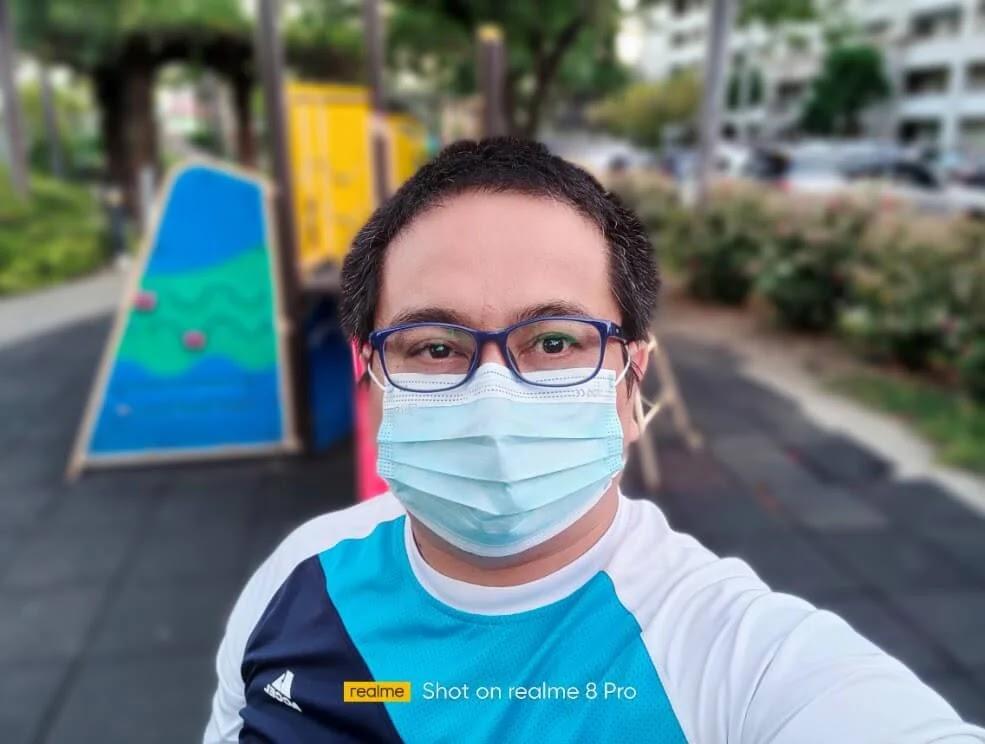 realme 8 Pro Camera Sample - Portrait Selfie