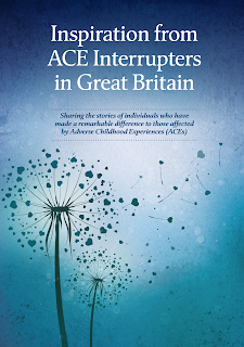 The front cover of a book about ACEs