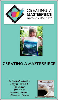 Creating A Masterpiece - A Homeschool Coffee Break Review @ kympossibleblog.blogspot.com - Our review of the #onlineartprogram from Creating A Masterpiece  #hsreviews  #artinstruction  #art  #homeschool