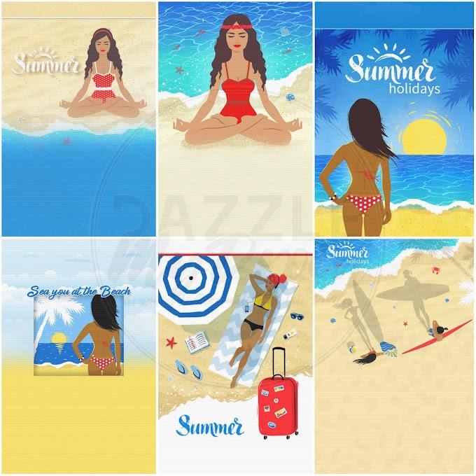 """Wallpaper Pack """"Life's a Beach"""""""