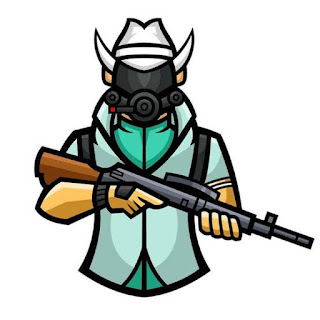 Best Pubg character moscot Gaming logo of MortaL (MortaL Pubg Mobile Character logo)