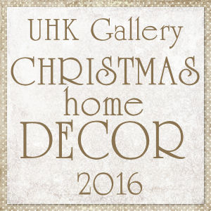 CHRISTMAS home DECOR 2016