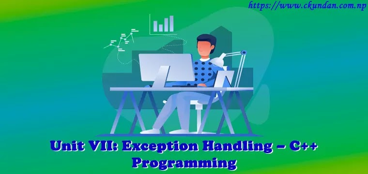 Exception Handling – C++ Programming