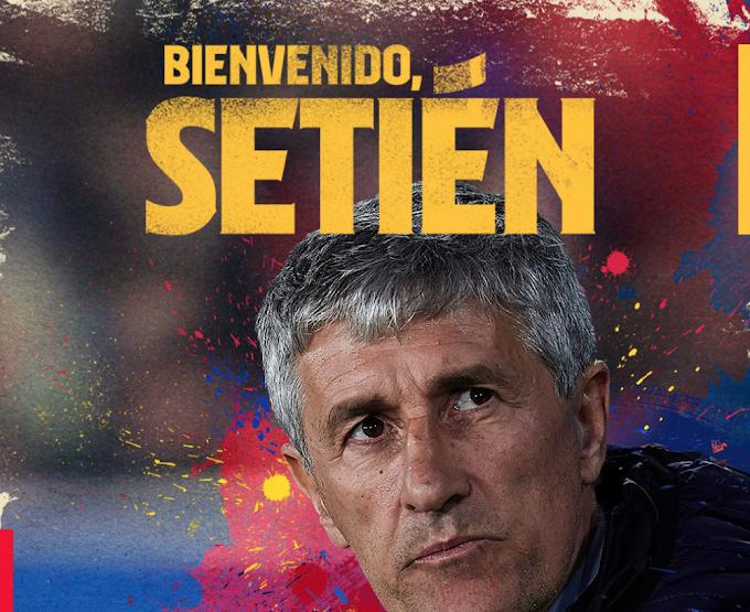 OFFICIAL: Quique Setien replaces Valverde as new Barcelona boss