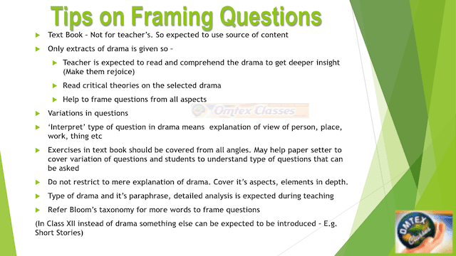 Tips on Framing Questions