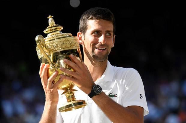 Lewat Pertarungan Sengit Akhirnya Novak Djokovic Juara Wimbledon 2019