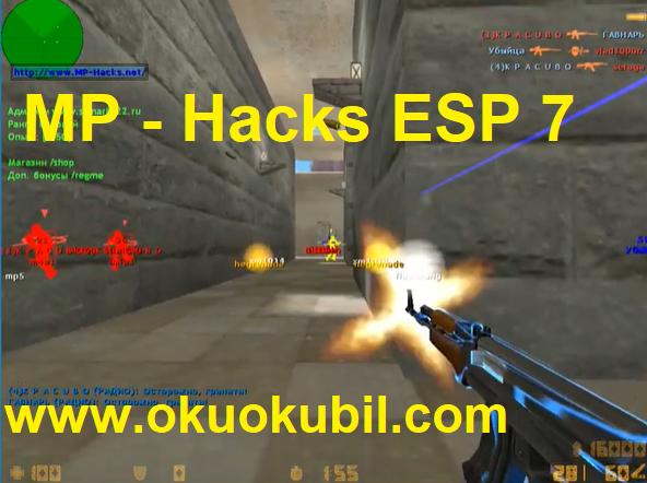 Counter Strike v5.0 1.6 MP Hack7 Süper Menulu Wallhack Hilesi Ocak 2020