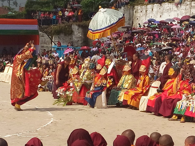 Cham Dance - The Ritualistic Masked  Dance By Buddhist Monks