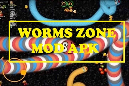 Download Worms Zone io MOD APK versi 1.3.5 terbaru 2020