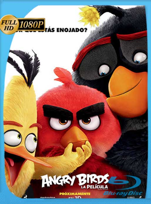 Angry Birds La Película (2016) [1080p] Latino [GoogleDrive] DizonHD
